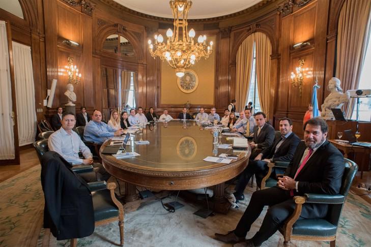 El Subcomité de Trabajo de la FIAB, reunido en la BCBA el 20 de marzo de 2017