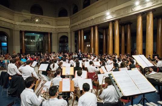 La Orquesta Estudiantil de Buenos Aires en la BCBA.