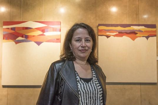 "La artista plástica presenta su ""Serie Pronósticos"""