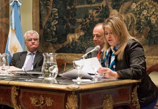 Los juristas Pablo Heredia, Jorge Alterini y Cecilia Lanús Ocampo participaron del cierre del Programa de Desarrollo Profesional sobre la temática del nuevo Código Civil y Comercial que se dictó en la BCBA.