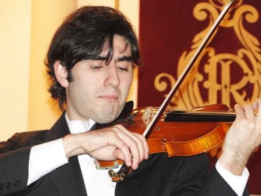 Xavier Inchausti, solista de violín.
