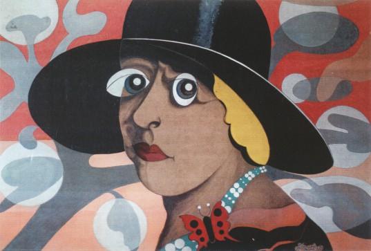 Obra Victoria Ocampo IInspiración) de Barbier