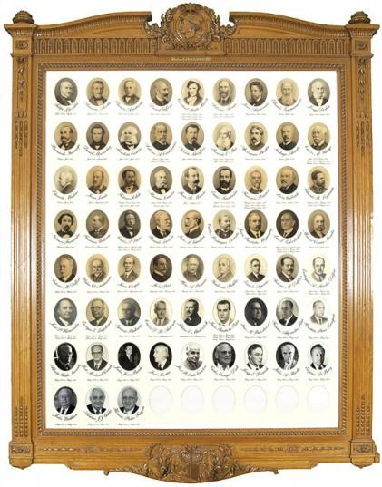 Presidentes de la BCBA